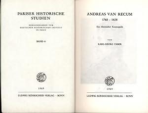 Andreas van Recum,1765 - 1828. Ein rheinischer Kosmopolit,,: Faber, Karl-Georg