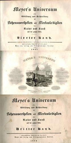 oder Abbildung und Beschreibung des Sehenswerthesten und Merkwürdigsten der Natur und Kunst ...