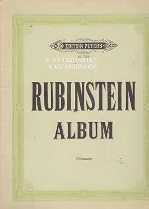 Edition Peters, Nr. 3788. Anton Rubinstein Album. Für klavier zu 2 Händen.,10329.: ...