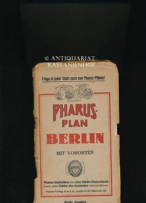 Pharus-Plan Berlin mit Vororten,Große Ausgabe mit Führer: Hrsg.