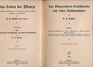 Konvolut fünf Bücher: Das Leben der Pflanze, I. Abteilung: Das Pflanzenleben Deutschlands...