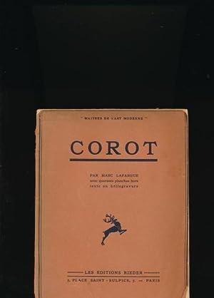 Corot,40 planches hors-texte en heliogravure: Lafargue, Marc