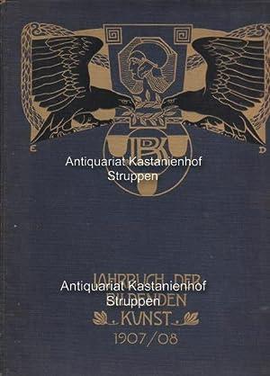 Jahrbuch der bilddenden Kunst 1907/08.,Sechster Jahrgang.,: Pastor, Willy (Herausgeber)