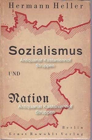 Sozialismus und Nation: Heller, Hermann