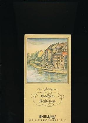 Shell Straßenkarte Nr. 13,Sachsen - Schlesien: Hrsg.