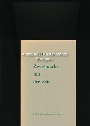 Zwiesprache mit der Zeit,Adolf Dünnebacke - Reden und Aufsätze Berlin 1946-1959 (mit ...