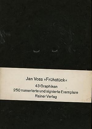 """Frühstück"""",43 Graphiken, 250 numerierte und signierte Exemplare, Nr. 196: Voss, Jan"""