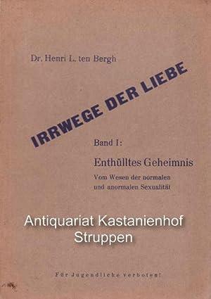 Konvolut 4 Bände der Reihe Irrwege der Liebe.,Band 1 bis 4. 1. Enthülltes Geheimnis. 2. ...