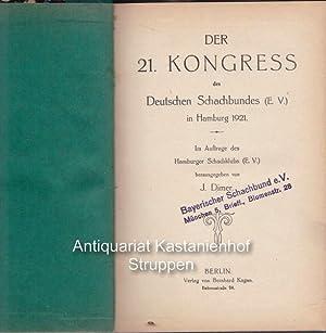 Der 20. Kongress des Deutschen Schachbundes e. V. in Hamburg 1921.: Dimer, J.