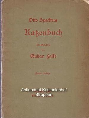 Otto Speckters Katzenbuch,,mit Gedichten von Gustav Falke, 2. Auflage: Speckter, Otto