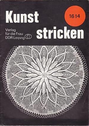 Konvolut 4 Hefte der Reihe Kunst stricken.,Nummern: Tiesler, Eva
