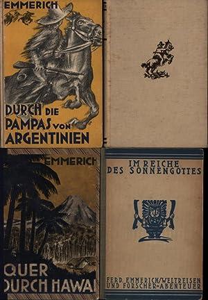 Konvolut 10 Romane von Ferdinand Emmerich. 1.: Emmerich, Ferdinand