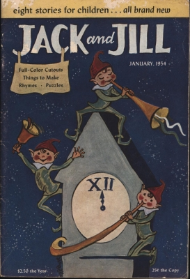 Jack and Jill, January 1954,eight stories for children . all brand new: Hrsg.