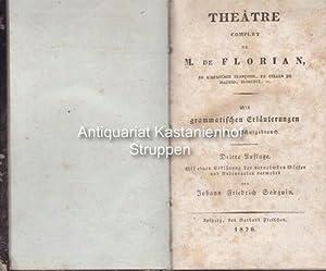 Theatre complet de M. de Florian de l' Académie Francoise, de Celles de Madrid, Florence, etc,...