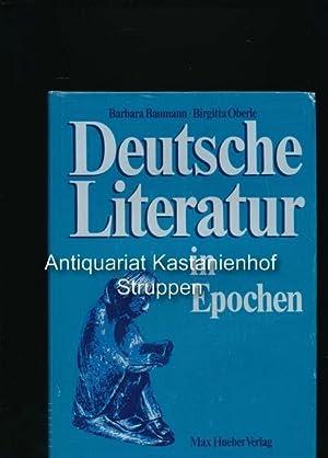 Deutsche Literatur in Epochen: Baumann, Barbara; Oberle,