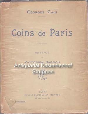 Coins de Paris.,,: Cain, Georges