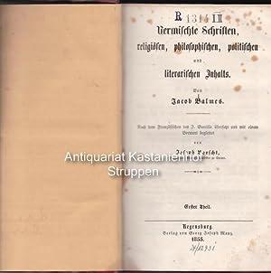 3 Bände bzw. 3 Theile Vermischte Schriften, religiösen, philosophische, politischen und ...