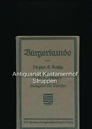 Bürgerkunde,Ausgabe für Sachsen: Kräßig, Konstantin; Fickert,