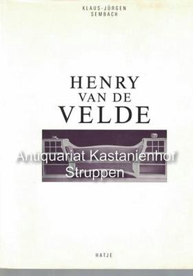 Henry van de Velde,: Sembach, Klaus-Jürgen
