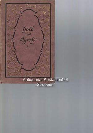 Konvolut 6 Bücher: 1. Gold und Myrrhe: Keller, Paul