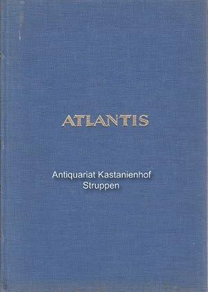 Atlantis. Länder, Völker, Reisen.,Jahrgang XXV.: Hürlimann, Martin