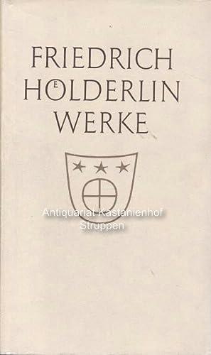 Werke.: Hölderlin, Friedrich