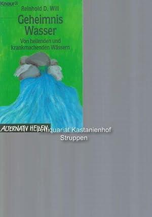 Konvolut 12 Bücher: 1. Geheimnis Wasser. Von: Will, Reinhold D.;