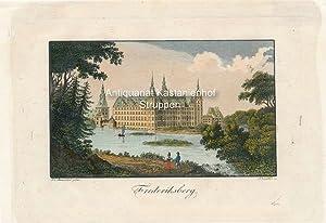 Frederiksberg. - Original-Radierung-koloriert,,: J. E. Alexander pinx.t/A. Winkler sc.