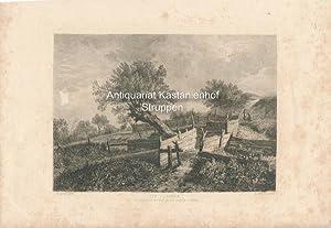 Die Planken. - Original-Radierung,Das Original in der K.K. akadem. Galerie zu Wien.,,: J. Ruisdael ...