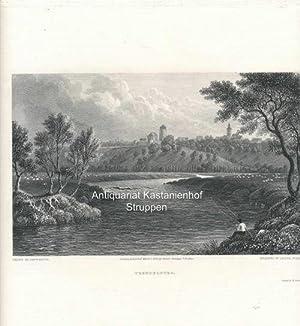 Trendelburg. - Original-Stahlstich,Printed by McQueen. unten mittig: London, Published March 1, ...