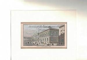 Nr. 1372. Die deutsche Reichsbank in Berlin. Holzstich, koloriert