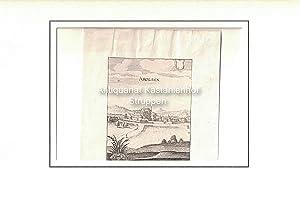 Arolsen. Original-Kupferstich.,: Merian