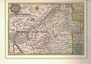 Das Stift Zeitz verfertigt und gestochen von J. George Schreibern in Leipzig.,Original-Kupferstich,...