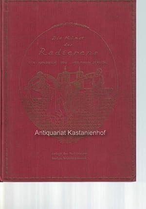 Die Kunst des Radierens. Ein Handbuch von Hermann Struck.,Originalgraphiken fehlen.: Struck, ...