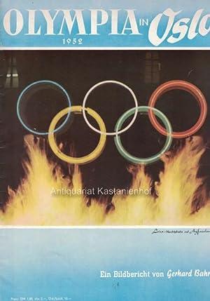 Olympia in Oslo 1952. Ein Bildbericht von Gerhard Bahr.: Gehm, Harry E.