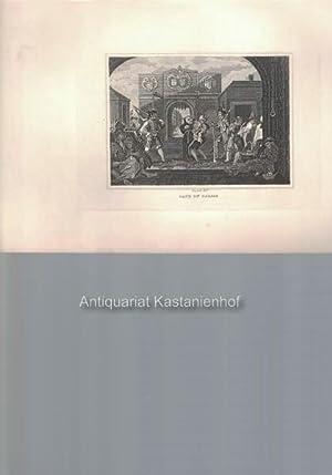 Gate of Calais. - Original-Kupferstich, feine Manier, und Radierung.,: Hogarth del.t