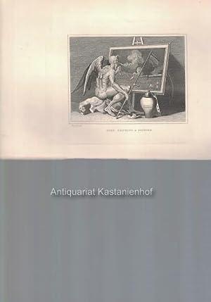 Time smoking a picture. - Original-Kupferstich, feine Manier, und Radierung.: Hogarth del