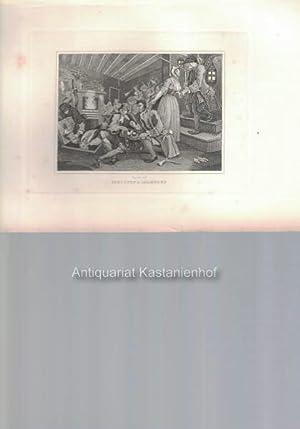Industry & Idleness. - Original-Kupferstich, feine Manier, und Radierung.,: Hogarth del.t