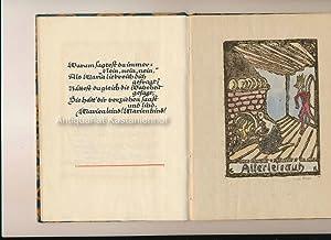 Sieben alte Märchen,(handgeschrieben, handgedruckt): anonymus