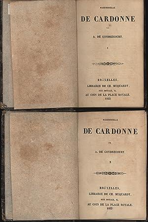 Konvolut zwei Bücher:,1. De cardonne, 1 Caton martial; 2. De cardonne, 2 Les fiançailles: ...