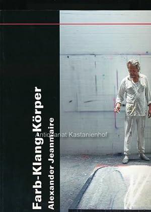 Farb-Klang-Körper,Fotografien von Peter Schüpbach: Jeanmarie, Alexander (Hrsg.)