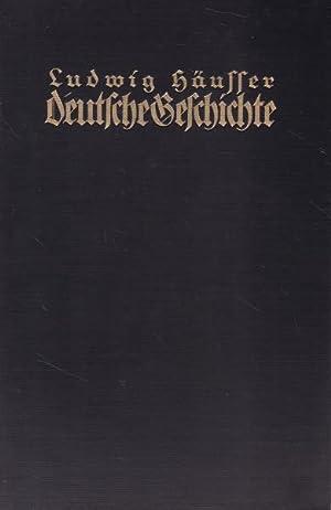 4 Bände Deutsche Geschichte vom Tode Friedrichs des Großen bis zur Gründung des deutschen Bundes.,...
