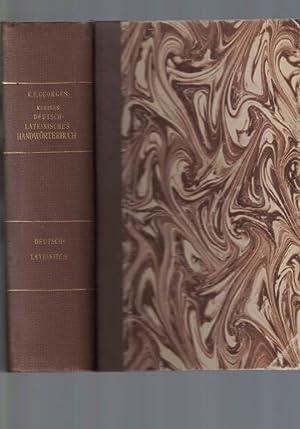 Kleines lateinisch-deutsches und deutsch-lateinisches Handwörterbuch.: Georges, Karl Ernst