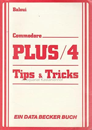 Commodore PLUS, 4. Tips und Tricks von Baloui.
