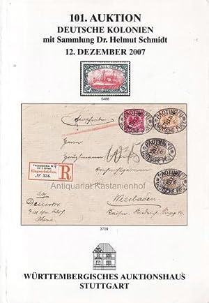 101. Auktion, Deutsche Kolonien, mit Sammlung Dr.: Derichs, Dr. Wilhelm
