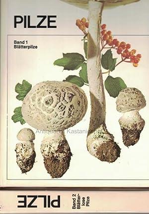 Konvolut 2 Bände: Pilze. 1. Blätterpilze; 2. Blätterlose Pilze.: Diverse