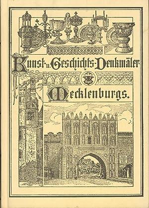 Die Kunst- und Geschichts-Denkmäler des Grossherzogtums Mecklenburg-Schwerin.,Band 5., Die ...