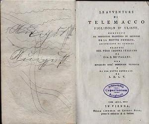 Le auventure di telemacco figliulo d'ulisse, composte da Monsignor di Salignac della motte ...