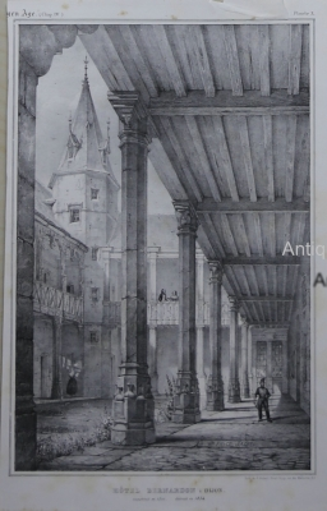 Hotel Bernadon a Dijon,Architekturdarst.: Sagot,Emile