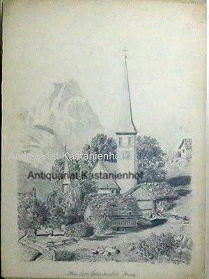 Aus dem Schächentale (Schweiz),Vedute,: Krämer, W.